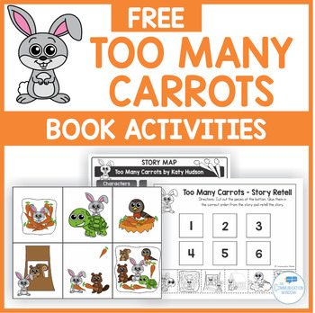Too Many Carrots Book Companion Activities Freebie