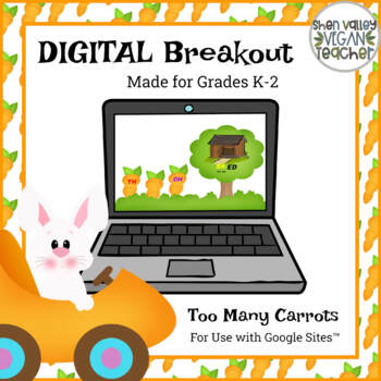 Digital Breakout Escape Room - Easter Digital Breakout (K-2) - Distance Learning