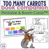 Too Many Carrots Speech Activities | Boom™ Cards and Print
