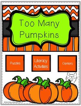 Too Many Pumpkins Literature Unit