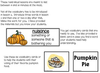"""Too Many Pumpkins"" by Linda White Read Aloud Lesson"