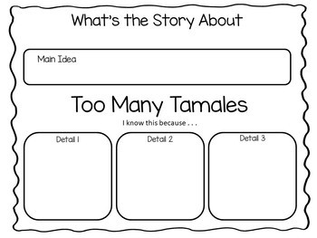 Too Many Tamales ~50 pgs. Common Core Activities