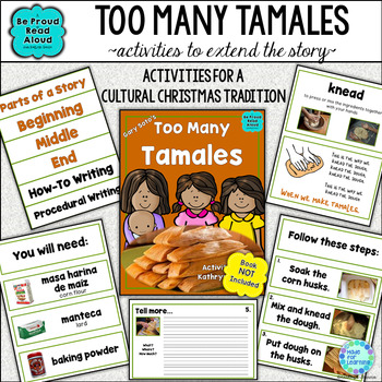 Too Many Tamales: Book Unit with How-To Writing, Reading and More