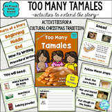 Read Aloud Interactive Book Activities: Too Many Tamales How-To Writing and More
