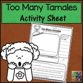 Too Many Tamales Activity Sheet *Print and Go!