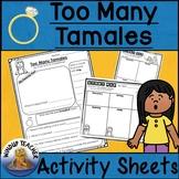 Too Many Tamales Activity Sheet   Print and Go!