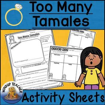 Too Many Tamales Activity Sheet *Print and Go!