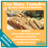 Too Many Tamales Comprehension Activities and test questions