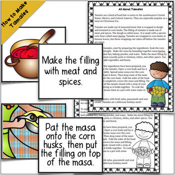 Too Many Tamales Literature Unit with Sequencing, Summarizing, Vocabulary, More