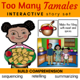 Too Many Tamales Literature Unit with Sequencing, Summariz