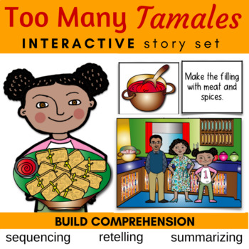 Too Many Tamales Literature Link (Sequencing, Summarizing,