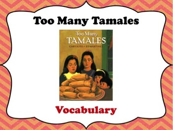 Too Many Tamales Vocabulary Visuals (for ELLs)