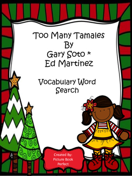Too Many Tamales Word Search