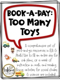 Book-a-Day: Too Many Toys (Not your Average Sub Plans!)