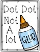 Too Much Glue Project -  Teaching Kids How to Use Glue