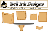 Tool Belt Pieces Clipart