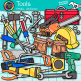 Tool Clip Art {Build STEM & STEAM Resources, Construction