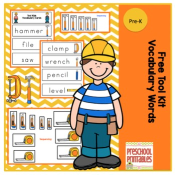 Tool Kids Vocabulary Cards
