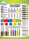 Tool Kit Clipart {Zip-A-Dee-Doo-Dah Designs}