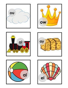 Tool Sounds (common blends and digraphs)