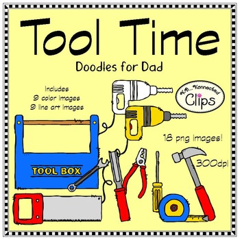 Tool Time! Doodles for Dad