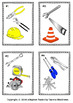 Tool Town Math Matching Task and Worksheets