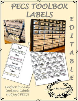 Toolbox Labels PECS