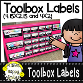 Toolbox Labels To Match Any Decor