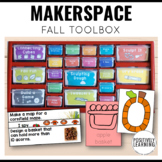 Makerspace Task Cards for Autumn