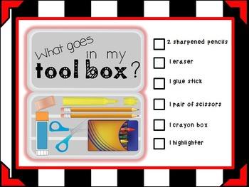 Toolbox Organization Checklist