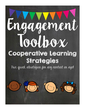 Engagement Toolbox - Filled with Cooperative Learning Ideas and materials