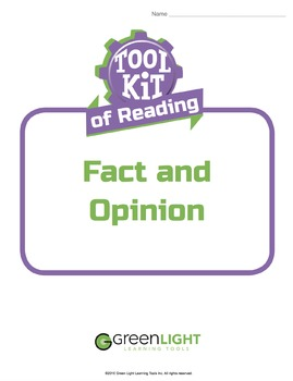 Toolkit of Reading: Fact and Opinion