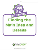 Toolkit of Reading: Finding the Main Idea and Details