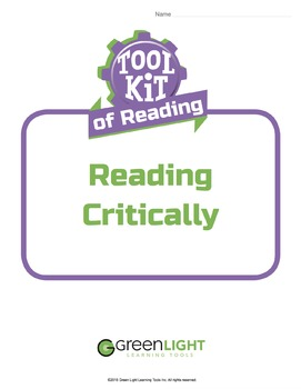 Toolkit of Reading: Reading Critically