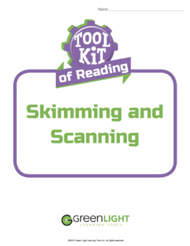 Toolkit of Reading: Skimming and Scanning