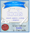 Tools - Booklet for 3 - Part Cards