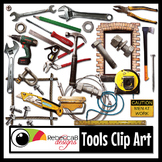 Tools Clip Art: Simple Tools, Simple Machines, Real Photo
