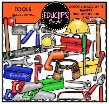 Tools Clip Art Bundle {Educlips Clipart}
