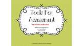 Tools For Assessment - High Frequency & Sight Words