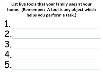 Tools - Homework