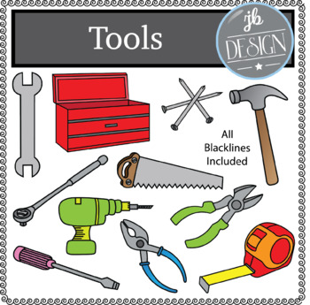Tools (JB Design Clip Art for Personal or Commercial Use)