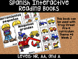 Tools & Machines Spanish Interactive Reading Books Can Be Used With Frog Street