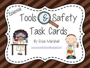 Tools & Safety Task Cards