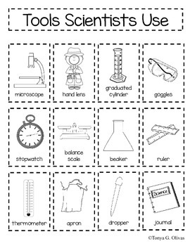 Tools Scientists Use--Interactive Book