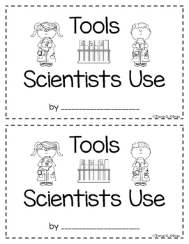Tools Scientists Use--Interactive Book--English and Spanish Bundle