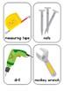 Tools Vocabulary Flash Cards