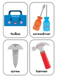 Tools Vocabulary Flash Cards