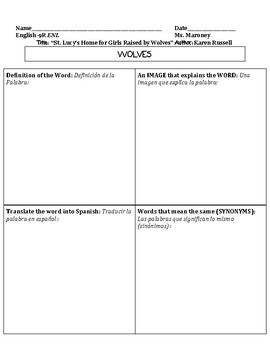 Tools and Templates for Teaching ELLs/ESL