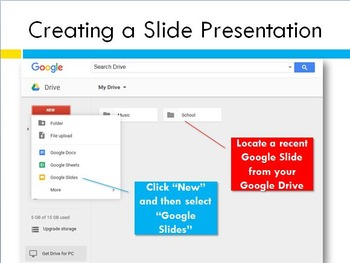 Tools and Tips for Accessing Google Slides Presentation