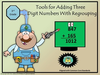Adding Three-Digit Numbers With Regrouping